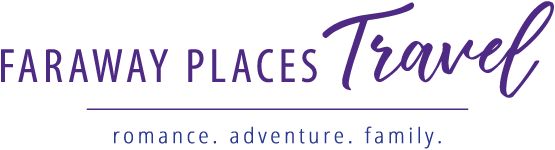 Faraway Places Travel Logo