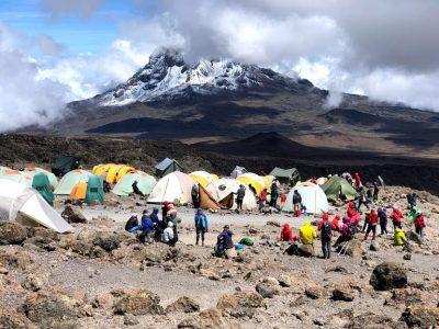 Kilimanjaro adventure camp