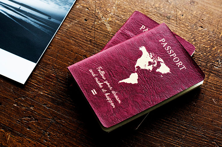 Traveling with your passport